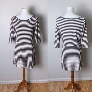RAG & BONE Cotton Striped Long Sleeve Dress